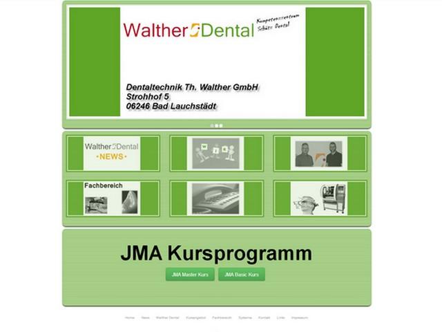 Neue Homepage von Dentaltechnik Walther